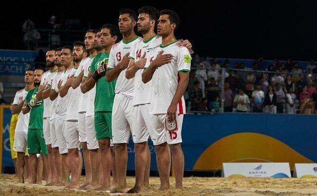 مدال برنز بر گردن ساحلی بازان ایران
