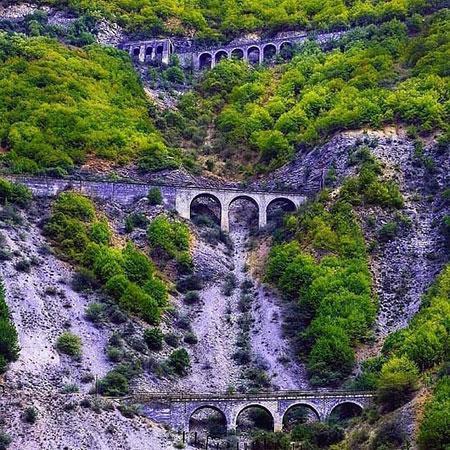 پل ورسک، قدیمی ترین و بزرگ ترین پل راه آهن کشور!