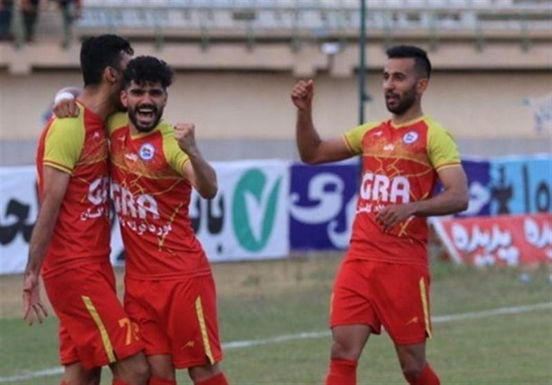 لیگ دسته اول فوتبال، تداوم صدرنشینی گل ریحان با شکست نیروی زمینی، پیروزی مس رفسنجان و فجر سپاسی