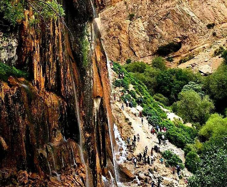 آبشار مارگون Margoon - سپیدان فارس