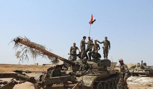 محاصره دیده بانی نیروهای ترکیه توسط ارتش سوریه ، قطع خطوط امدادی تروریست ها در حومه ادلب