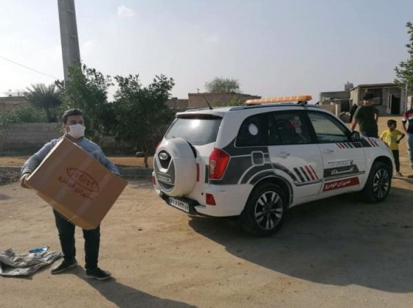 ارسال کمک های شرکت مدیران خودرو به مناطق سیل زده